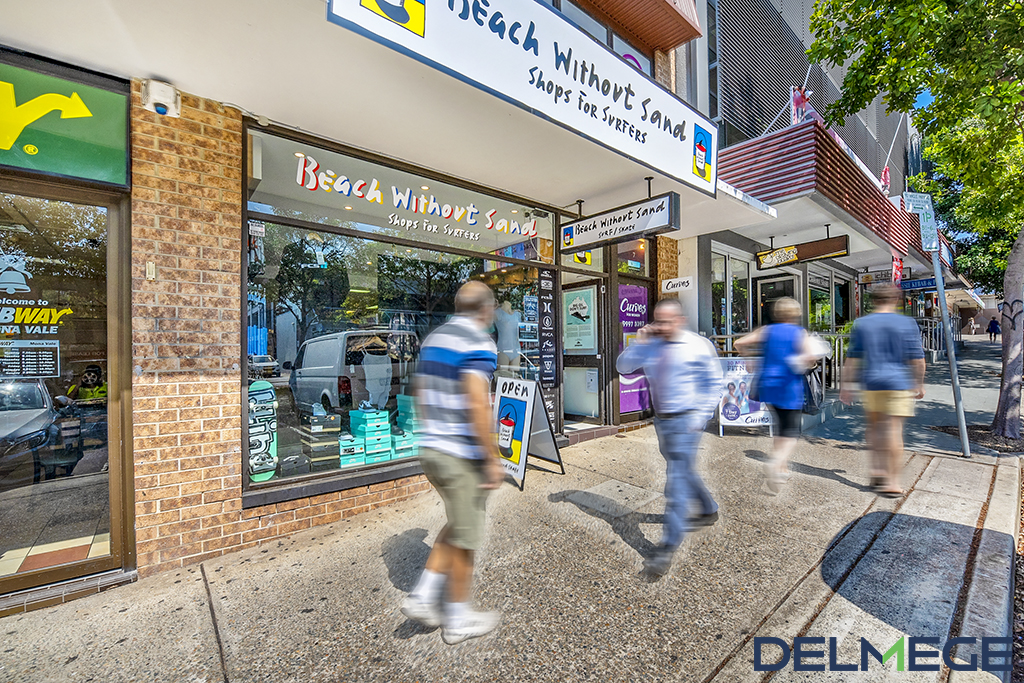 Retail property for lease in Mona Vale