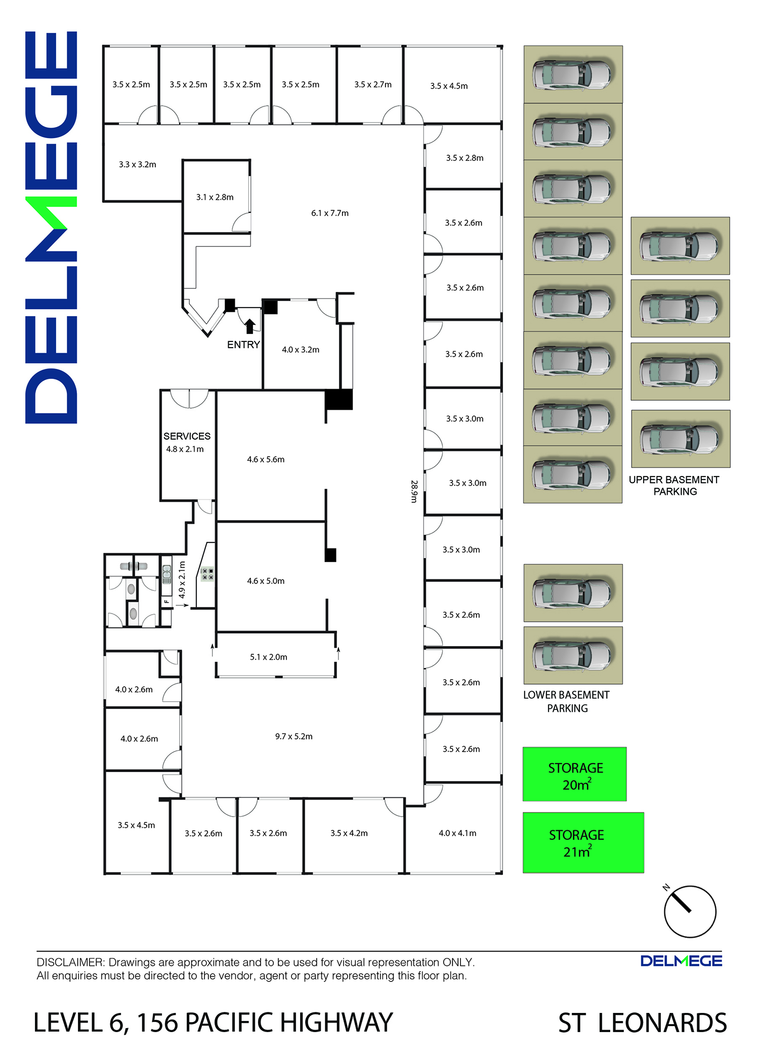 Office for lease in northern beaches